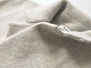 Collar detail of the Blazer Sweater-Jacket by Madewell