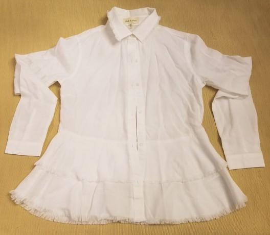Layered white shirt - Copy