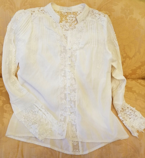 Elmira Buttondown Blouse by Anthropologie
