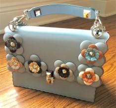 Fendi Floral Embellished Kan I handbag, 2017
