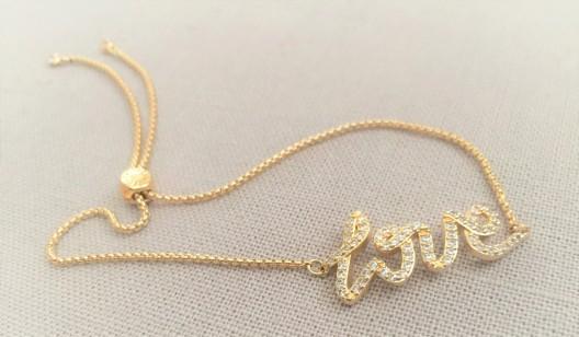 Henry Bendel love bracelet