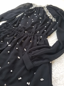 Michael Michael Kors Embellished Dress - close up view