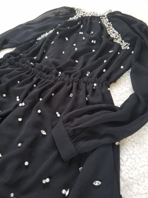 Michael Michael Kors Embellished Dress - close up view