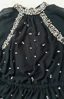 Michael Michael Kors Embellished Dress - close up of the embellishements