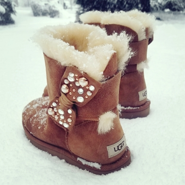 UGG Mini Bailey Bow Brilliant Boot