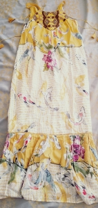 Anthropologie Paradiso Halter Dress by One September