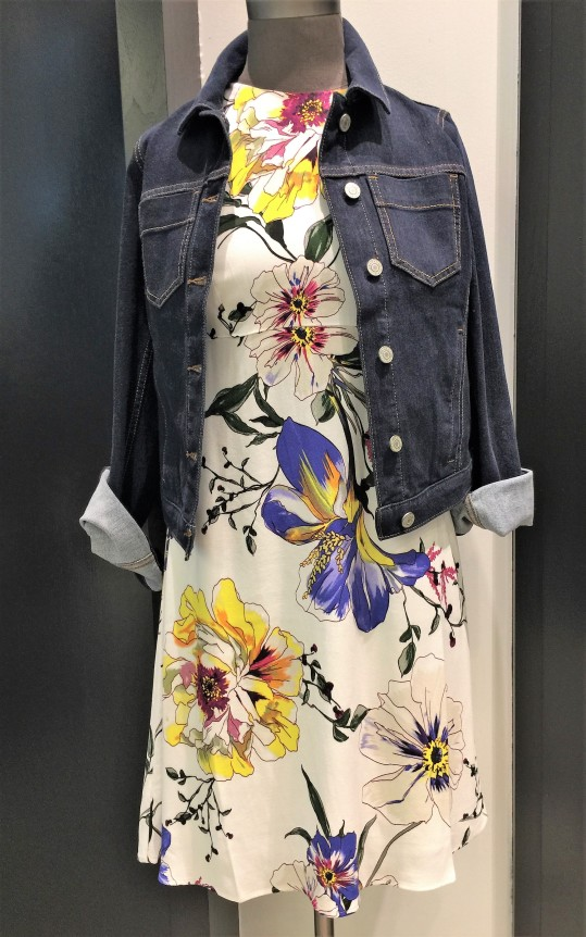Floral Shift Dress by Banana Republic