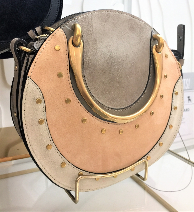 Pixie Round Colorblock Shoulder Bag by Chloe